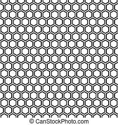 modello, pattern., seamless, struttura, fondo., nero, ...