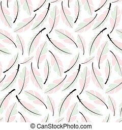 modello, penne, seamless, mano, boemo, disegno, disegnato