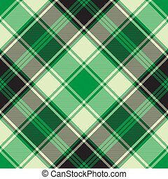 modello, plaid, verde, diagonale, seamless