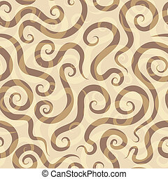 modello, sabbia, spirali, seamless