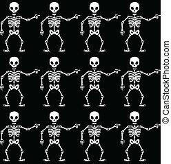 modello, scheletri, indicare