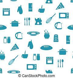 modello, seamless, cucina