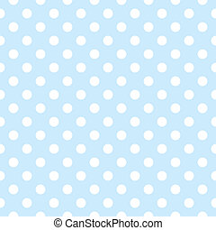 modello, -, seamless, puntino, polka