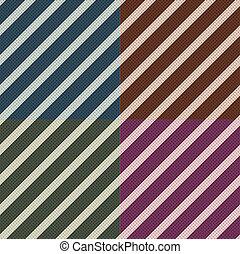 modello, seamless, zebrato, diagonale