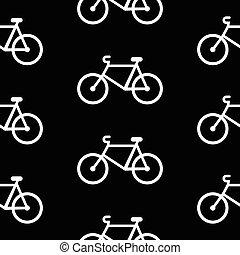 modello, simbolo, bicicletta, seamless