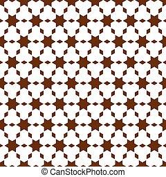 modello, stile, geometrico, seamless, islamico