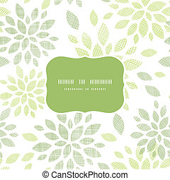 modello tessuto, foglie, seamless, astratto, fondo, textured, cornice