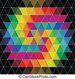 modello, triangoli