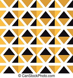 modello, triangolo, seamless