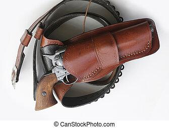 modelo, 1873, potro, revólver