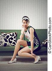modelo, 1960, estilo