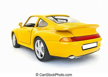modelo, coche deportivo