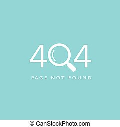 modelo, encontrado, 404, site web, página, não