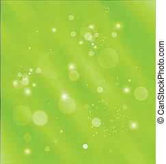 modelo, fundo, abstrato verde