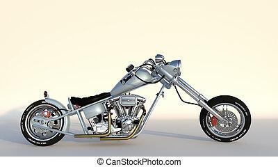 modelo, motocicleta