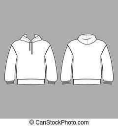 modelo, views), costas, (front, hoodie, homem