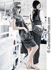modelos, moda