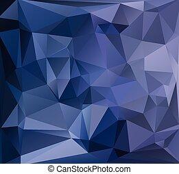 modelos, vívido, ilustração negócio, cor, criativo, polygonal, fundo, vetorial, pretas, desenho, mosaico
