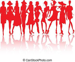 models., moda