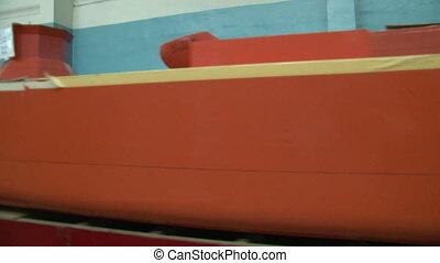 Models of ships