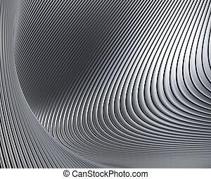 modeluje, abstrakcyjny, tło, metaliczny