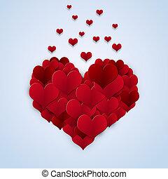 modeluje, serce, valentine