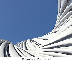 modeluje, tapeta, architektoniczny