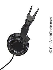 Moden Headphones on white background