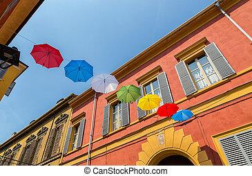 modena, emilia, romagna, utca, olaszország