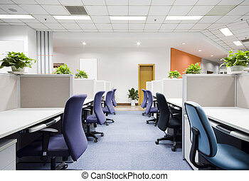 moderní, úřadovna vnitřek