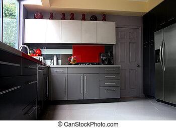 moderní, kuchyně