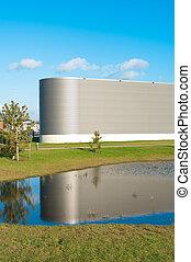 moderní, průmyslový building