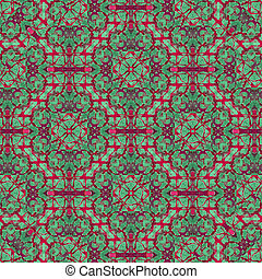 Modern Abstract Arts Crafts Pattern