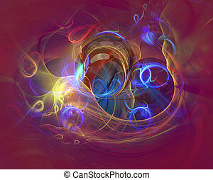 Modern abstract background design with space for your text....