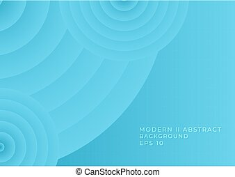 Modern abstract background geometric circle shape wave design with space for text