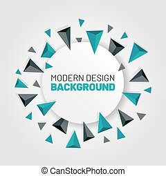 Modern abstract background with arrows vector illustration