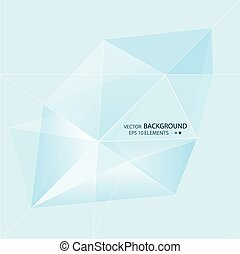 Modern abstract background with multicolored gradient mesh and triangular elements. Banner, blank website for