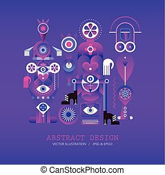 Modern Abstract Design vector illustration