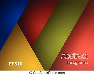 modern abstract multicolored background. material design