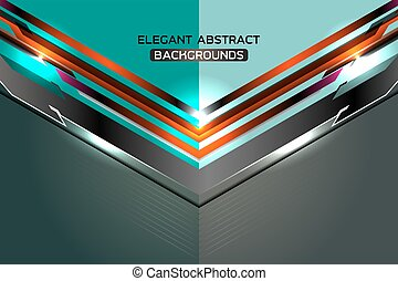 modern abstract template blue background