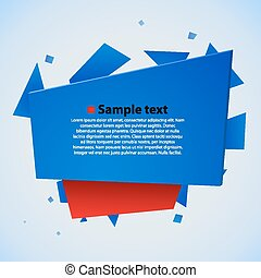 Modern abstract vector illustration.