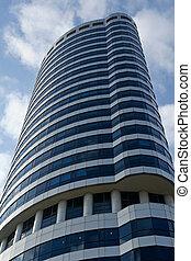 modern affär, byggnad