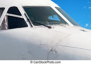 Cockpit close-up