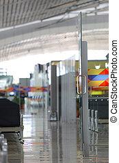 Modern airport