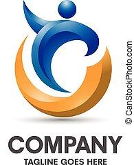 health coaching logo - modern and elegant concept health ...