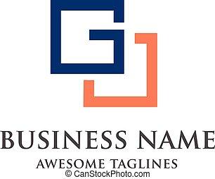 letter G square logo