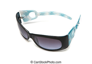 sunglasses with violet glasses