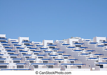 Modern Apartment Building in Spain