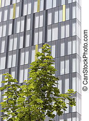 modern apartment building, symbol of housing, real estate,...