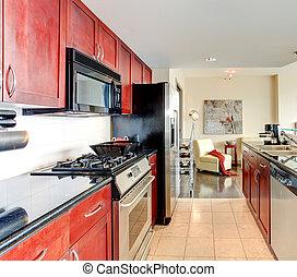 Modern apartment interior.